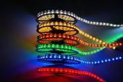 светодиодная лента - разные цвета - в наличии - от 900 тг