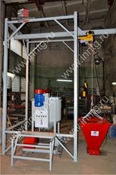 Оборудование для производства газобетона. Линия Иннтех 50 Мастер.