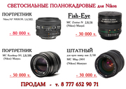 объективы для Nikon полнокадровые портретные светосильные в отличном