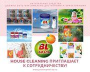 House cleaninG приглашает для сотрудничества